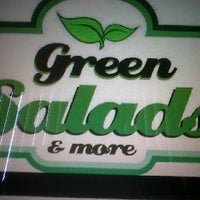 Photo taken at Green salads & more by charles on 3/25/2011