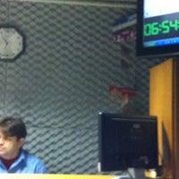 Photo taken at Rádio O POVO CBN Fortaleza FM 95.5 by Taziane A. on 7/16/2012