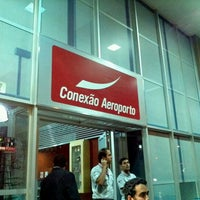 Photo taken at Conexão Aeroporto by Luiz Antonio B. on 10/22/2011