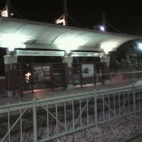 Photo taken at Downtown Plano Station (DART Rail) by Steven G. on 11/2/2011