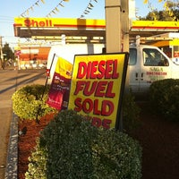 Photo taken at Shell by Andrew J. on 8/12/2011