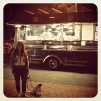 Photo taken at Santa Monica Food Truck Lot by Dustin L. on 2/1/2012