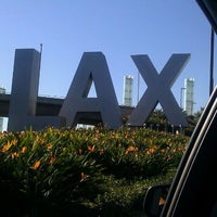 Photo taken at LAX Sign by Kenneth R. on 1/5/2012