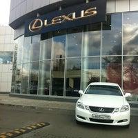 Photo taken at Lexus Сокольники by Yana on 10/13/2011