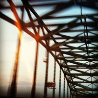 Photo taken at Piscataqua River Bridge by Sean L. on 8/24/2012
