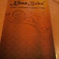 Photo taken at Khan Baba Restaurant by Lynn on 5/28/2012