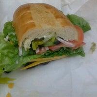 Photo taken at The Sandwich Spot by Samantha C. on 4/9/2012