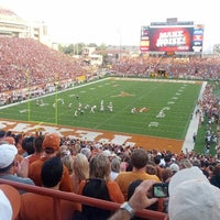 Photo taken at Darrell K. Royal-Texas Memorial Stadium by Ivan on 9/2/2012