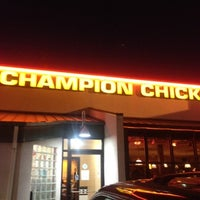 Photo taken at Champion Chicken by Nick K. on 7/27/2012