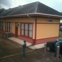 Photo taken at McComb Amtrak Station by Shawana C. on 4/16/2012