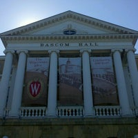Photo taken at Bascom Hall by John Christian H. on 6/12/2012