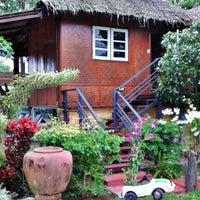Photo taken at Yoko Resort River Kwai by Kanokporn P. on 8/31/2012
