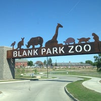 Photo taken at Blank Park Zoo by Aaron H. on 5/10/2012