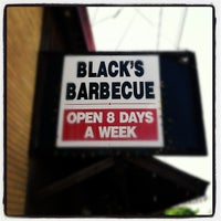 Photo taken at Black's Barbecue by Brad W. on 7/28/2012