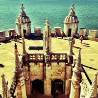 Photo taken at Belém Tower by Mauricio O. on 9/12/2012