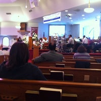 Photo taken at First Baptist Church Of Vienna by Daniel S. on 12/4/2011