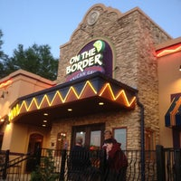 Photo taken at On The Border Mexican Grill & Cantina by Claire L. on 4/7/2012