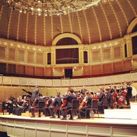 Photo taken at Symphony Center (Chicago Symphony Orchestra) by Will H. on 3/30/2012