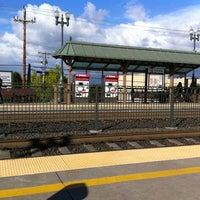 Photo taken at San Carlos Caltrain Station by Matthew F. on 6/1/2011