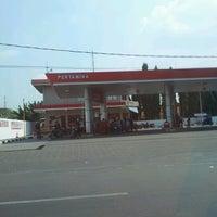 Photo taken at SPBU 54.613.06 Bhayangkara - Mojokerto by YulKoz on 7/7/2012
