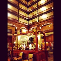 Photo taken at The Brown Palace Hotel and Spa, Autograph Collection by Stacie V. on 3/16/2012
