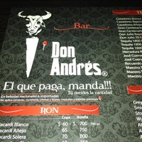 Photo taken at Bar Don Andres by Humberto R. on 5/27/2012