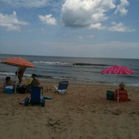 Photo taken at 66th Street at the Oceanfront by Danya B. on 7/15/2012