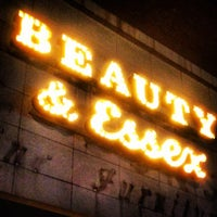 Photo taken at Beauty & Essex by Johnny S. on 4/17/2012