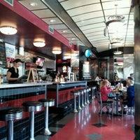 Photo taken at Salt & Pepper Diner by Chris B. on 4/2/2012