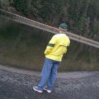 Photo taken at Leaburg Lake by Bob C. on 12/26/2011