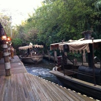 Photo taken at Jungle Cruise by Gerald H. on 1/16/2012