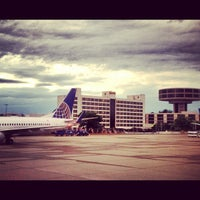 Photo taken at George Bush Intercontinental Airport (IAH) by Jesse E. on 4/17/2012