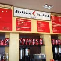 Photo taken at Julius Meinl Coffee House by Basil D. on 3/18/2012