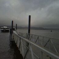 Photo taken at NY Waterway Ferry Terminal Ossining by Jared R. on 10/14/2011