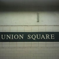 Photo taken at MTA Subway - 14th St/Union Square (L/N/Q/R/4/5/6) by The Official Khalis on 10/4/2011