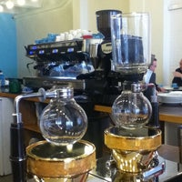 Photo taken at Prufrock Coffee by David R. on 6/7/2011