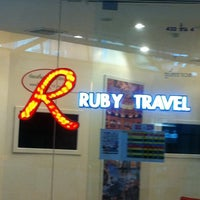 Photo taken at Ruby Travel by Dhera drn. on 4/19/2011