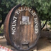 Photo taken at Mount Palomar Winery by Teresa C. on 8/17/2012