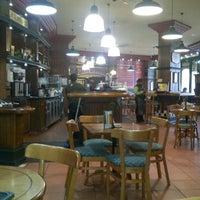 Photo taken at Mugg & Bean Langeberg Mall by Albert P. on 9/2/2011
