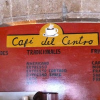 Photo taken at Café del Centro by Hector Andres B. on 6/21/2012