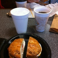 Photo taken at Brooklyn Bagel Bakery by Samuel R. on 3/12/2012
