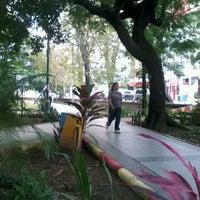 Photo taken at Taman Segitiga Macan by Obed N. on 4/21/2012