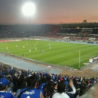 Photo taken at Estadio Nacional Julio Martínez Prádanos by Sebastian P. on 9/9/2012