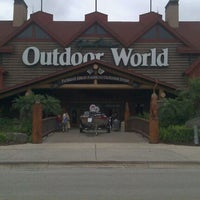 Photo taken at Bass Pro Shops by Tehani D. on 2/26/2012