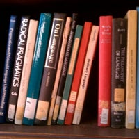 Photo taken at Hoose Library of Philosophy (MHP) by Andy S. on 2/23/2012