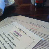 Photo taken at Enoteca Vespaio by Jason M. on 3/10/2012