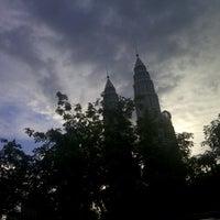 Photo taken at Kuala Lumpur City Centre (KLCC) Park by Chael S. on 9/13/2012