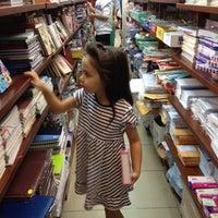 Photo taken at Fahasa Nguyễn Huệ Bookstore by Viet Nga K. on 8/27/2012