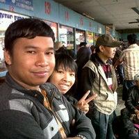 Photo taken at Terminal Bus Pati by Ratna E. on 3/25/2012