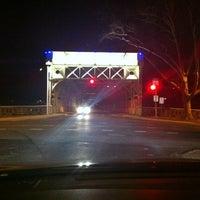 Photo taken at Falls Bridge by Trey F. on 2/21/2012
